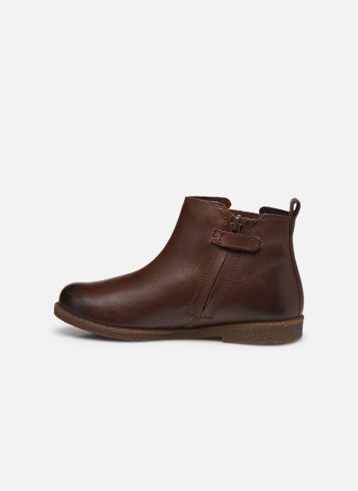 Bottines et boots Geox J Shawntel Girl J044EA Marron vue face