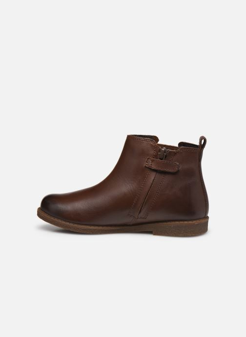 Boots en enkellaarsjes Geox J Shawntel Girl J044EA Bruin voorkant