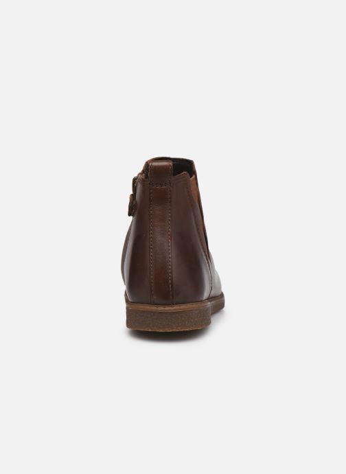 Boots en enkellaarsjes Geox J Shawntel Girl J044EA Bruin rechts