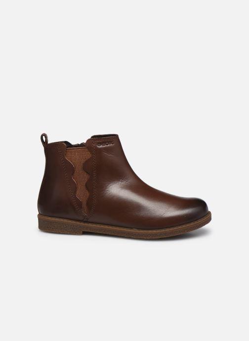 Boots en enkellaarsjes Geox J Shawntel Girl J044EA Bruin achterkant