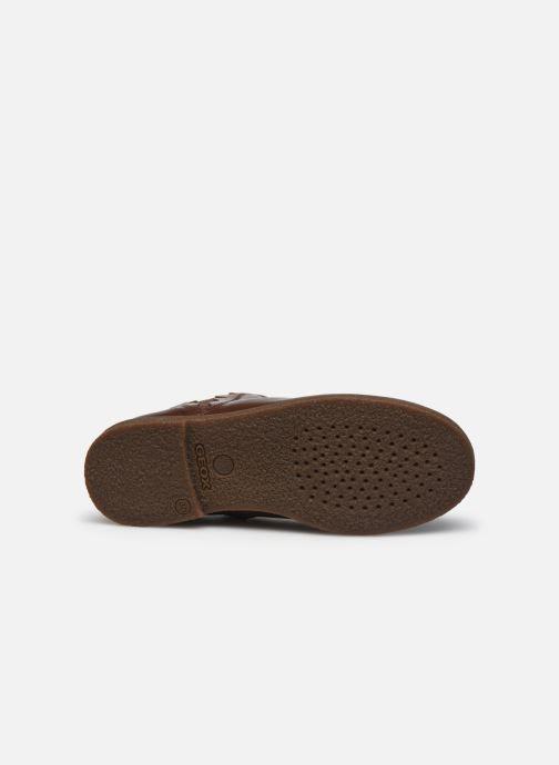 Bottines et boots Geox J Shawntel Girl J044EA Marron vue haut