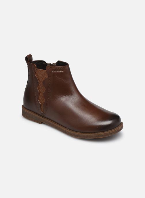 Boots en enkellaarsjes Geox J Shawntel Girl J044EA Bruin detail