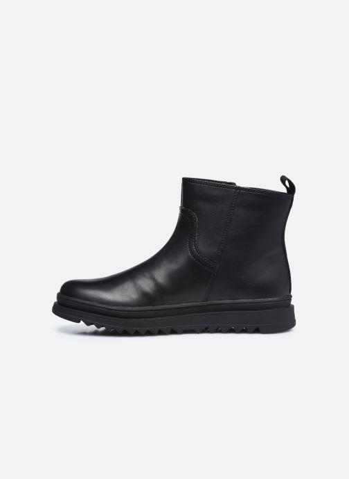 Stiefeletten & Boots Geox J Gillyjaw Girl J047XB schwarz ansicht von vorne