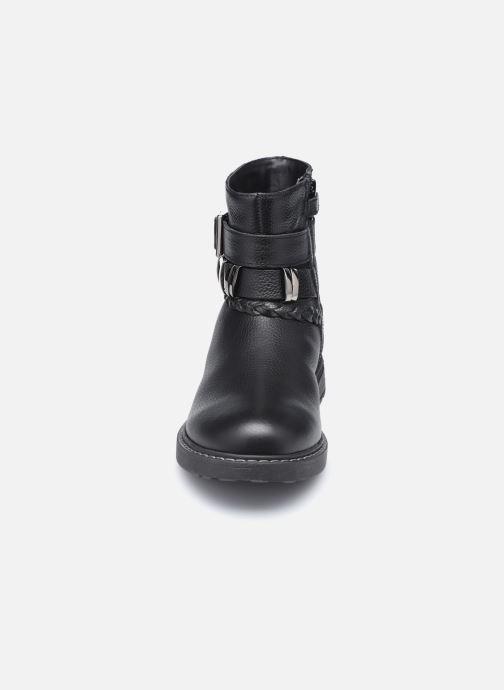 Stiefeletten & Boots Geox J Eclair Girl J049QE schwarz schuhe getragen