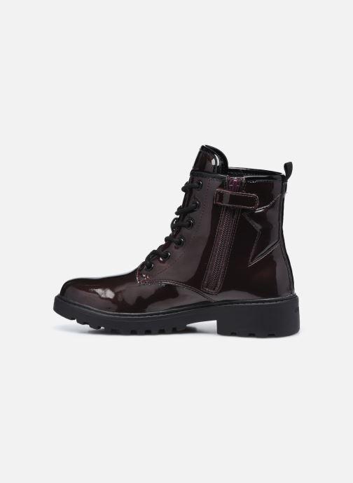 Bottines et boots Geox J Casey Girl J9420G J9420G Bordeaux vue face