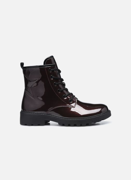 Bottines et boots Geox J Casey Girl J9420G J9420G Bordeaux vue derrière