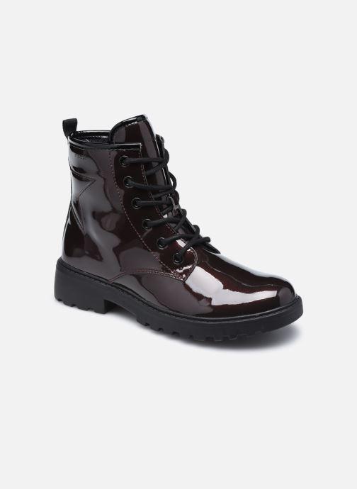 Bottines et boots Geox J Casey Girl J9420G J9420G Bordeaux vue détail/paire