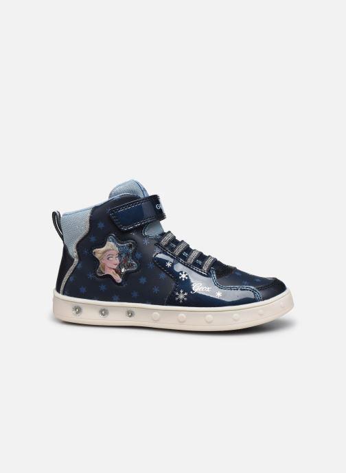 Sneakers Geox J Skylin Girl J048WB x Frozen Blå se bagfra