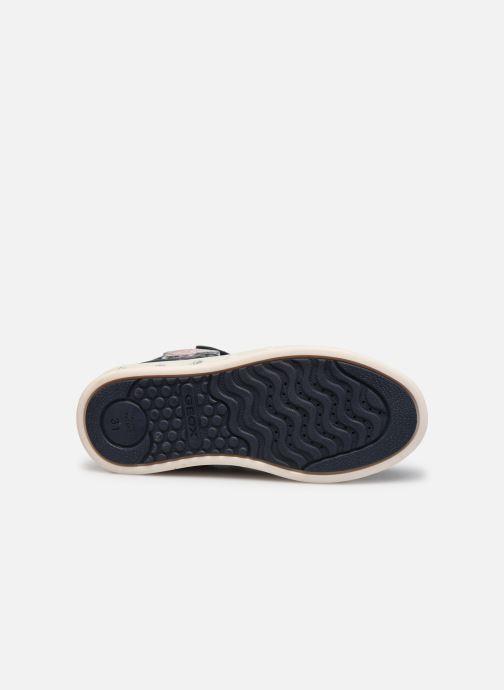 Sneakers Geox J Skylin Girl J048WB x Frozen Blå se foroven