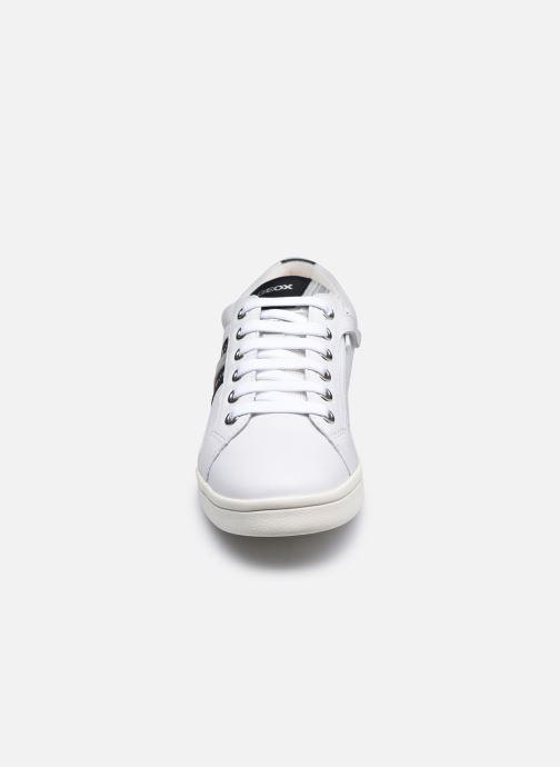 Sneaker Geox J Djrock Girl J024MH weiß schuhe getragen