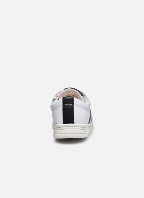 Sneaker Geox J Djrock Girl J024MH weiß ansicht von rechts