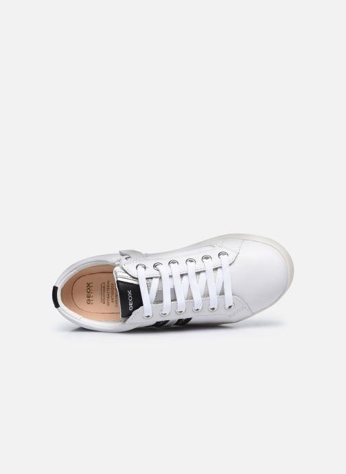 Sneaker Geox J Djrock Girl J024MH weiß ansicht von links