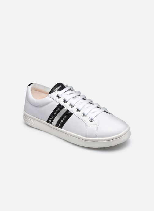 Sneaker Geox J Djrock Girl J024MH weiß detaillierte ansicht/modell