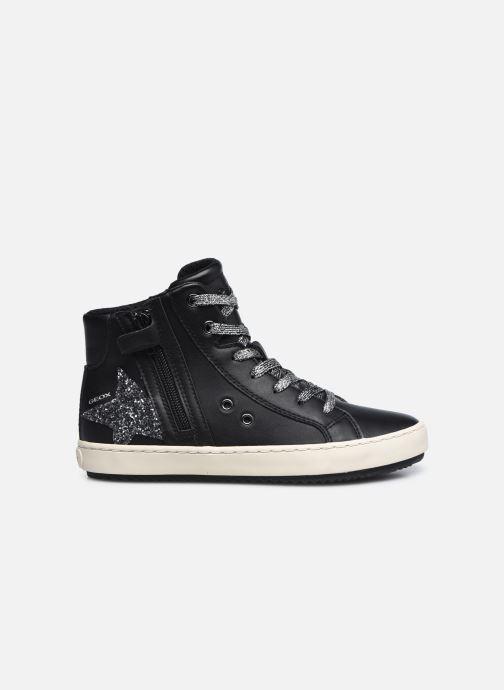 Sneaker Geox J Kalispera Girl J044GA schwarz ansicht von hinten