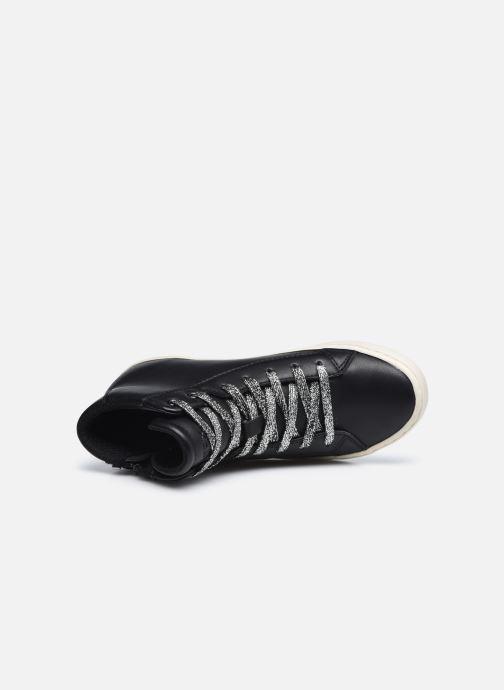 Sneaker Geox J Kalispera Girl J044GA schwarz ansicht von links