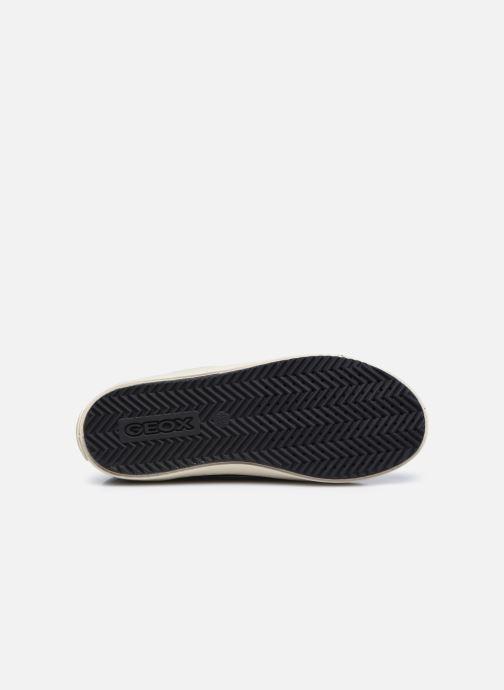 Sneaker Geox J Kalispera Girl J044GA schwarz ansicht von oben