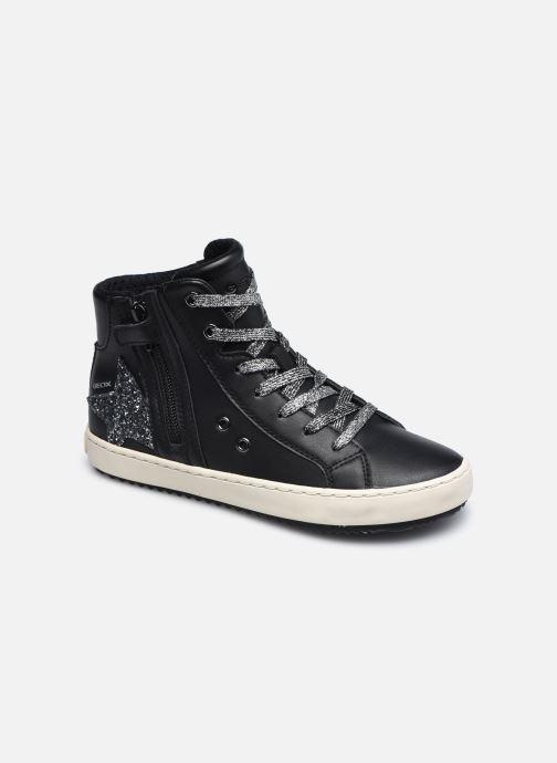 Sneaker Geox J Kalispera Girl J044GA schwarz detaillierte ansicht/modell
