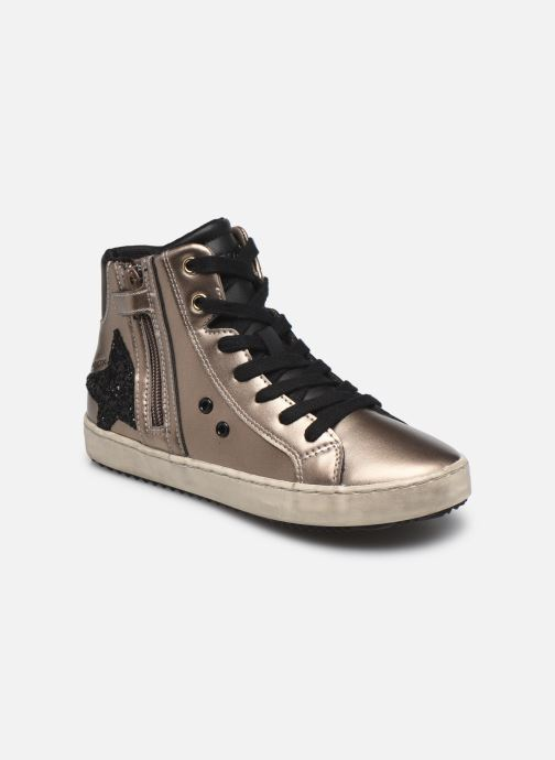 Sneaker Geox J Kalispera Girl J044GA gold/bronze detaillierte ansicht/modell