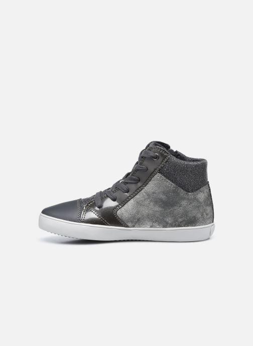 Sneakers Geox J Gisli Girl J024ND Grigio immagine frontale