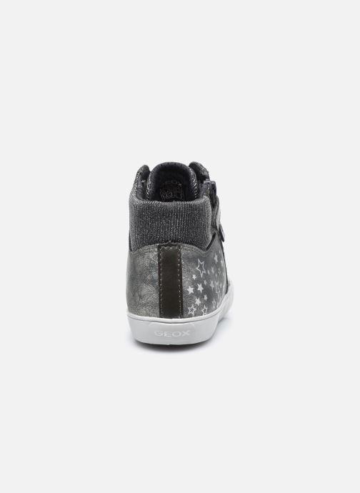 Sneakers Geox J Gisli Girl J024ND Grigio immagine destra