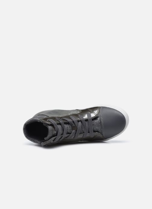 Sneakers Geox J Gisli Girl J024ND Grigio immagine sinistra