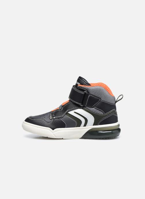 Sneakers Geox J Grayjay Boy J049YD Zwart voorkant