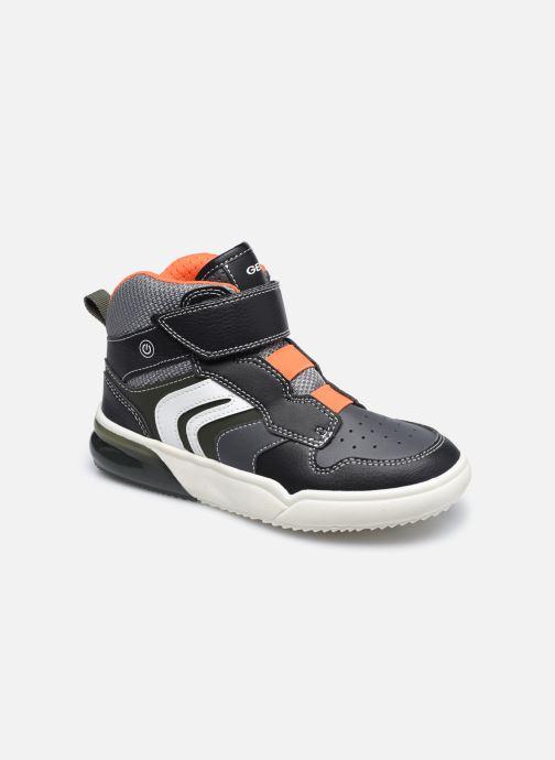 Sneakers Geox J Grayjay Boy J049YD Zwart detail