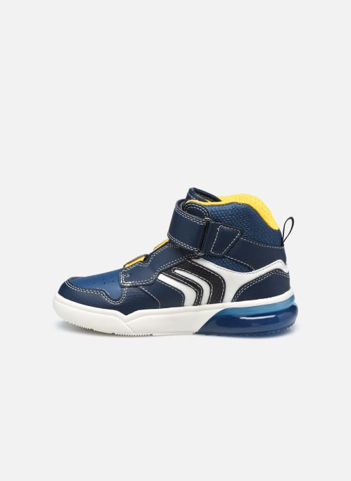 Sneakers Geox J Grayjay Boy J049YD Blauw voorkant
