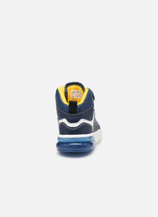 Baskets Geox J Grayjay Boy J049YD Bleu vue droite