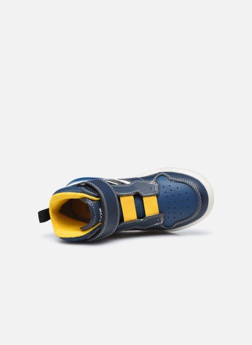 Sneakers Geox J Grayjay Boy J049YD Blauw links