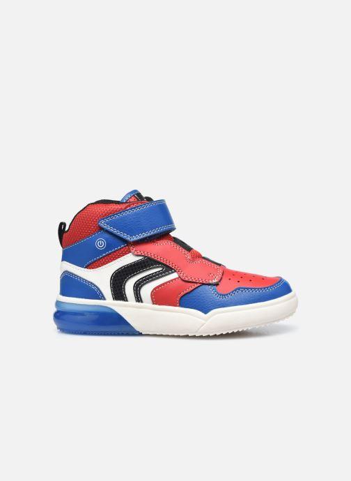 Sneakers Geox J Grayjay Boy J049YD Rood achterkant