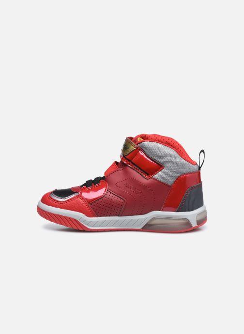 Sneaker Geox J Inek Boy J049CA rot ansicht von vorne