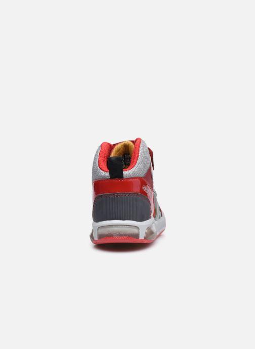 Sneaker Geox J Inek Boy J049CA rot ansicht von rechts