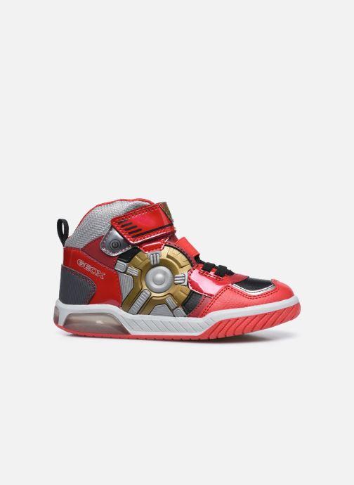 Sneakers Geox J Inek Boy J049CA Rood achterkant