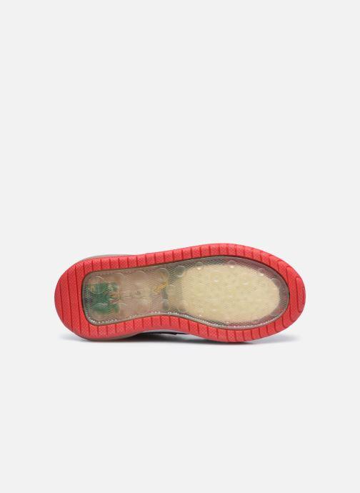 Sneaker Geox J Inek Boy J049CA rot ansicht von oben