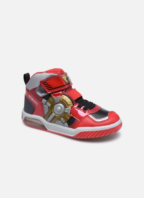 Sneakers Geox J Inek Boy J049CA Rood detail