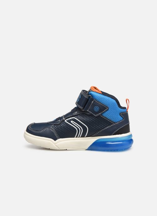 Sneakers Geox J Grayjay Boy J049YB Blå se forfra