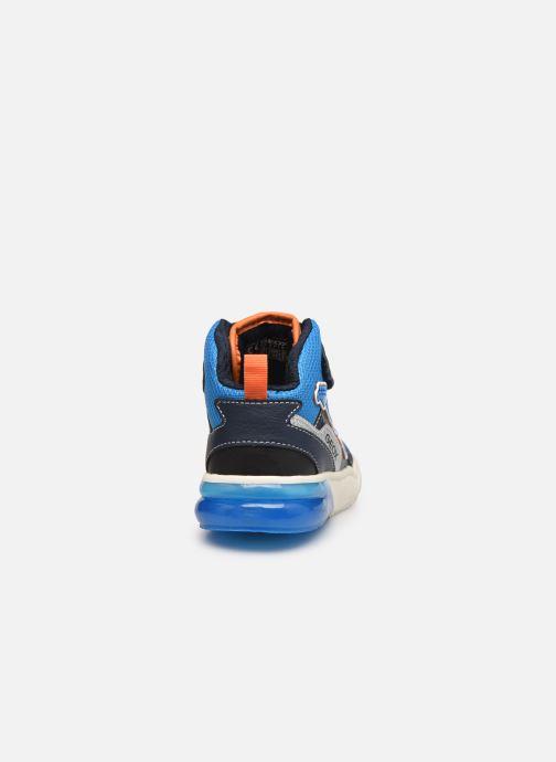 Sneakers Geox J Grayjay Boy J049YB Blå Se fra højre