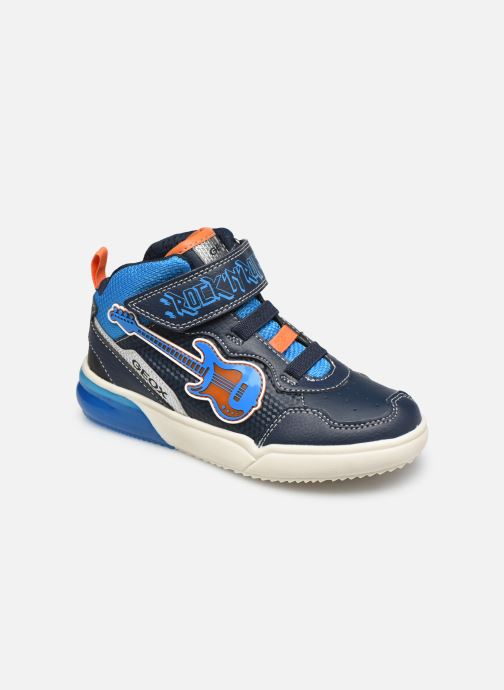Sneakers Geox J Grayjay Boy J049YB Blå detaljeret billede af skoene