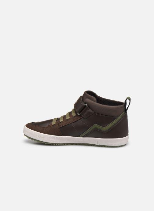 Sneakers Geox J Alonisso Boy J042CA Bruin voorkant
