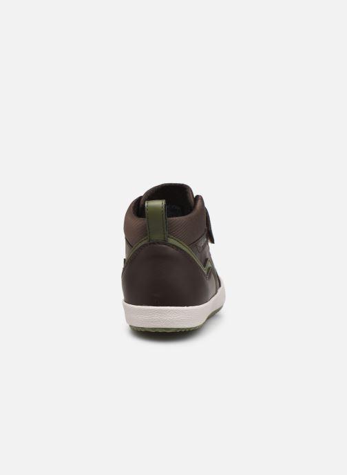 Sneakers Geox J Alonisso Boy J042CA Bruin rechts