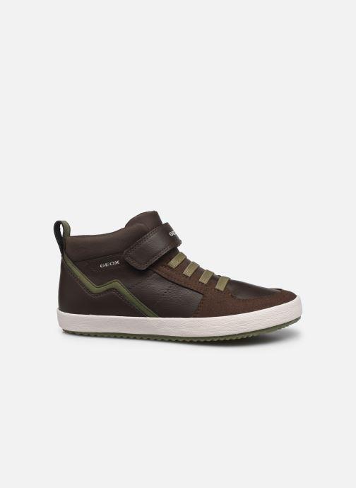 Sneakers Geox J Alonisso Boy J042CA Bruin achterkant