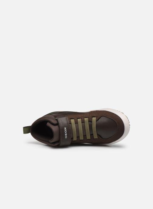 Sneakers Geox J Alonisso Boy J042CA Bruin links