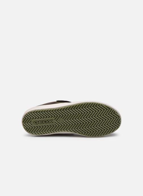 Sneakers Geox J Alonisso Boy J042CA Bruin boven