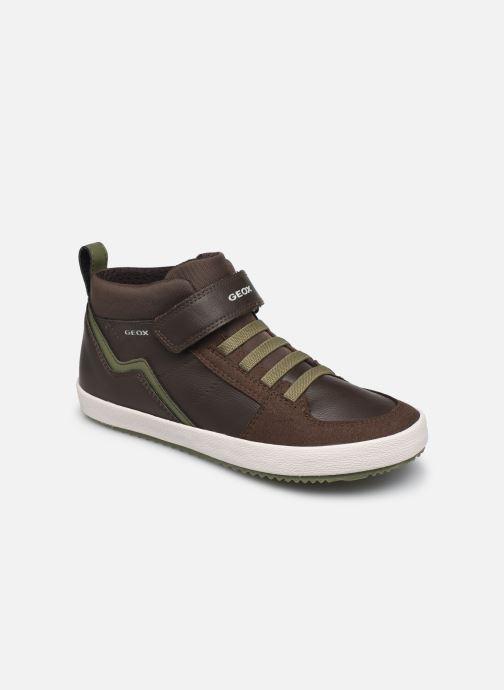 Sneakers Geox J Alonisso Boy J042CA Bruin detail
