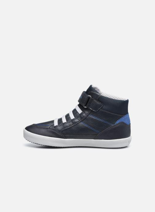 Sneakers Geox J Gisli Boy J045CA Azzurro immagine frontale