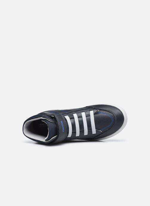 Sneakers Geox J Gisli Boy J045CA Azzurro immagine sinistra