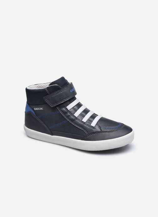 Sneakers Geox J Gisli Boy J045CA Blauw detail