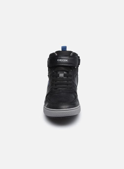 Baskets Geox J Poseido Boy J04BCB Noir vue portées chaussures