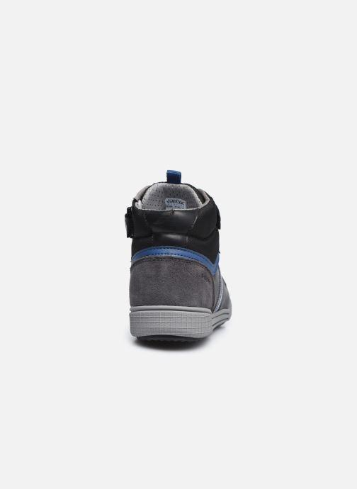 Sneakers Geox J Poseido Boy J04BCB Zwart rechts
